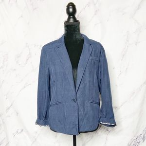 Anthropologie Cartonnier Blue Museo Jacket